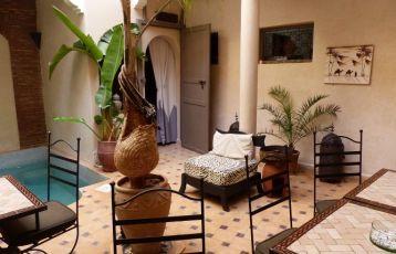 Riadhotel in Marrakesch, Unterkunftsbeispiel