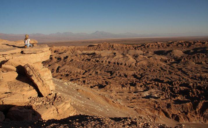 Sonnenuntergang im Mondtal - San Pedro de Atacama