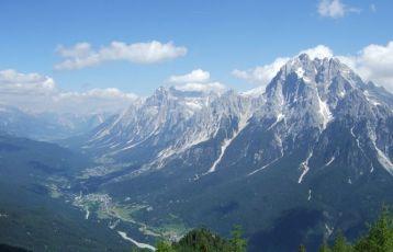 Ausblick vom Monte Rite