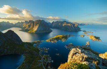 Blick über Inselwelt