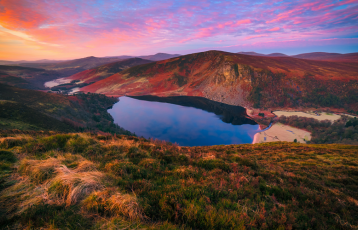 Herbst in den Wicklow Mountains