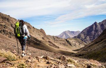 4-tätige Trekking-Tour durch das Atlasgebirge