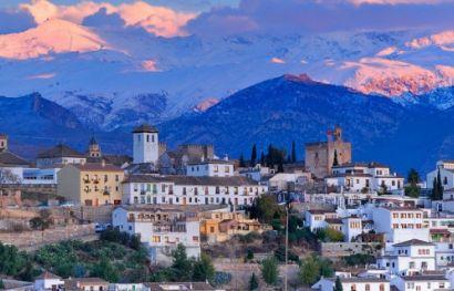 Granada die letzte Bastion der Mauren in Spanien.