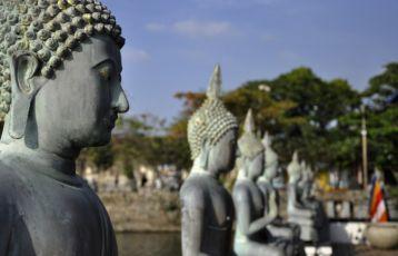 Gangaramaya Tempel