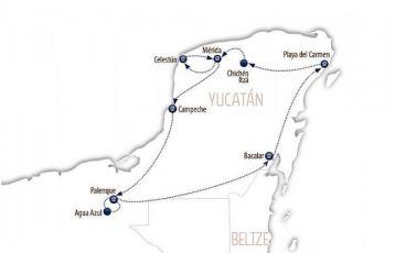 Quer durch Yucatan