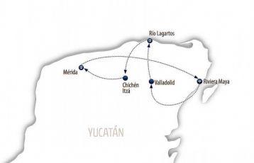 Kurze Runde durch Yucatán