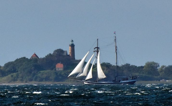 vor der dänischen Küste