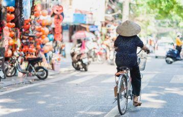 In den Gassen von Hanoi