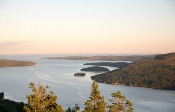 Blick vom Skuleberget, Schweden
