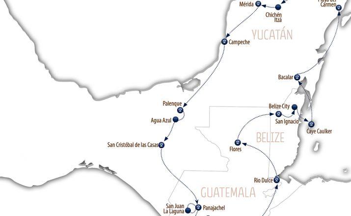 Auf den Spuren der Mayas