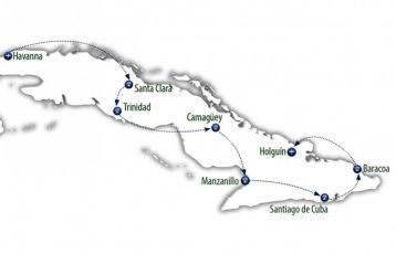 Kuba von West nach Ost
