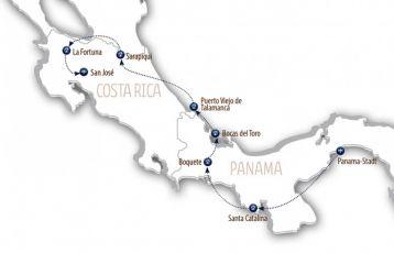 Naturerlebnis Mittelamerika
