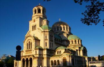 Die Kathedrale Alexander Nevski in Sofia