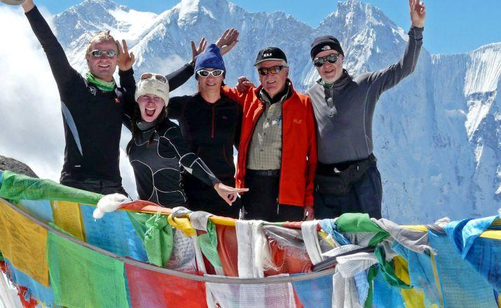 TIBET: Trekking zum Fuße von Everest, Lhotse & Makalu MOSKITO Adventures 1