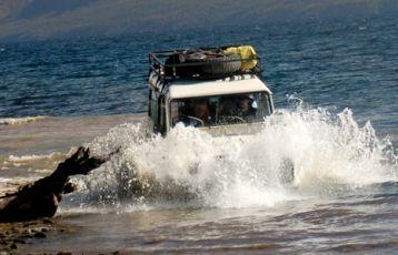 Autofahren in Patagonien