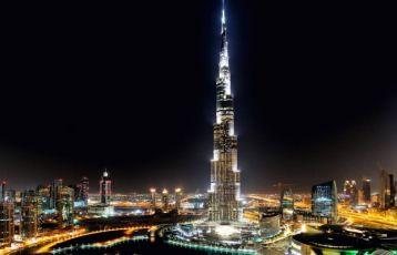 Dubai mit Burj Khalifa