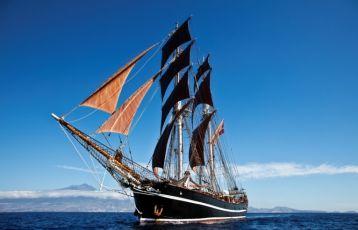 Einwöchige Segelreise rund um die Kanarischen Inseln mit dem Segelschulschiff 'Eye of the Wind'