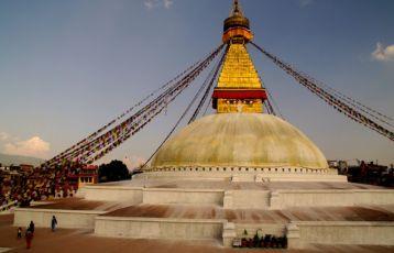 Stupa von Bodhnath,