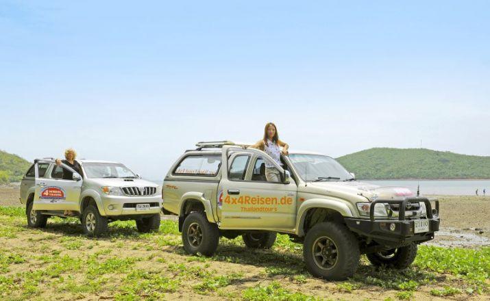 FWT: Jeep Safari in den Sueden und Westen Thailands Four Wheel Travel 1