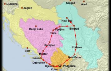 Reiseplan
