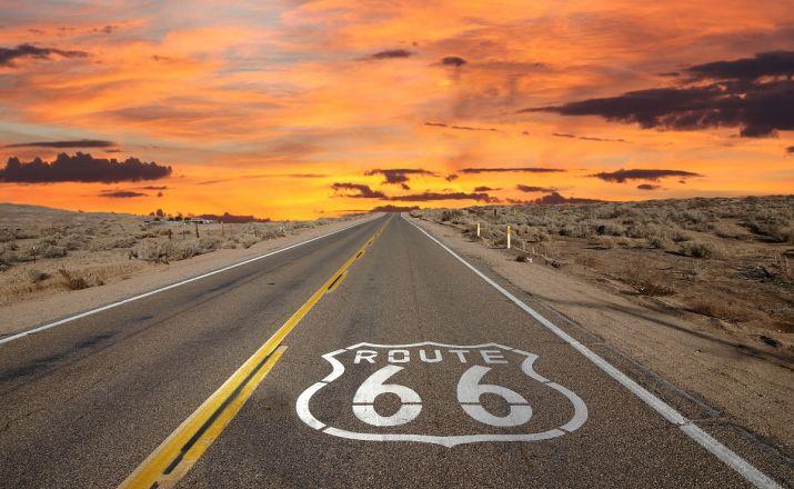 USA - Route 66 - Amerika's Mutter aller Straßen Feuer und Eis Touristik 1