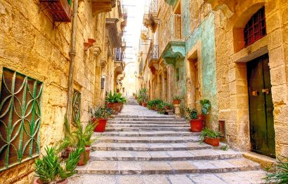 Flugreise Malta