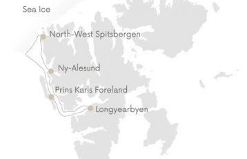 Longyearbyen Expeditions-Kreuzfahrten 8 Tage ab 7.600 €