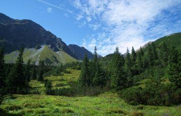 Slowakei Bergpanorama